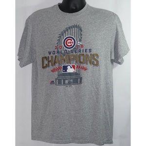 Chicago Cubs World Series T Shirt Size L